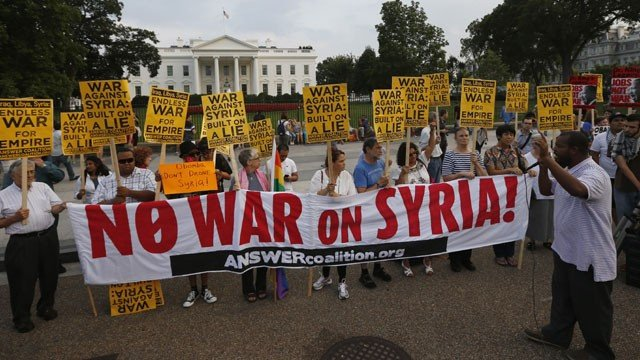 No-war-in-Syria-protest-at-White-House1