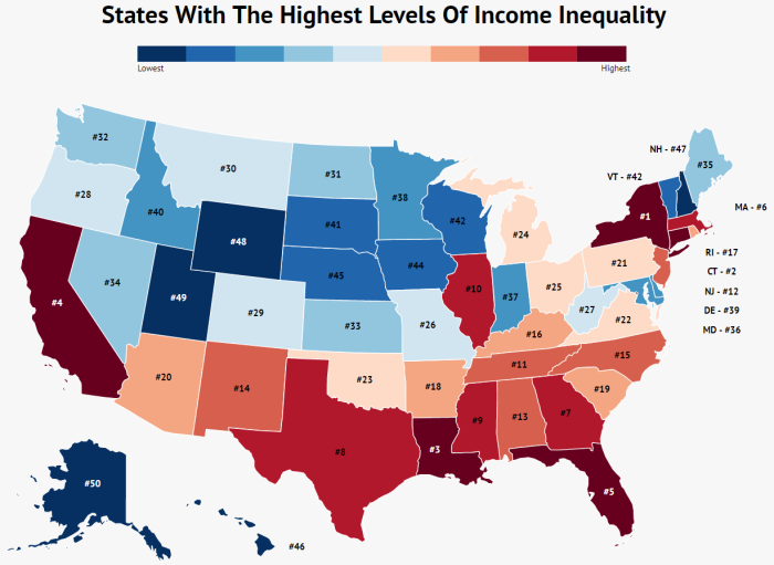 states-with-the-highest-income-inequality-map